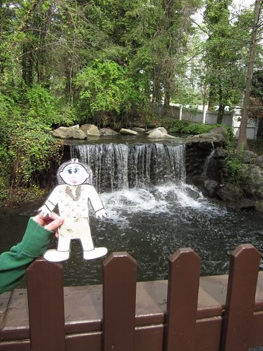 Flat Stacy Visits Kings Dominion