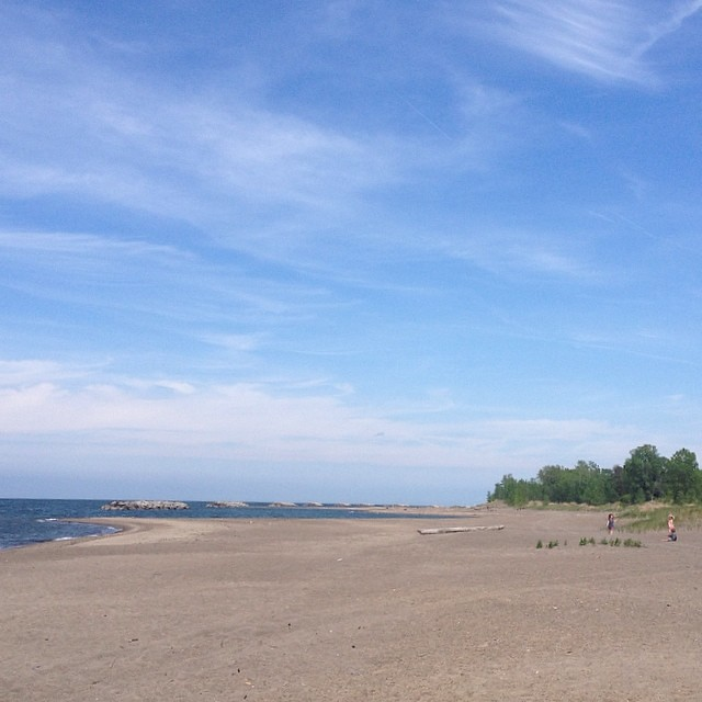 Presque Isle. #erie #greatlake #lakeerie #nofilter