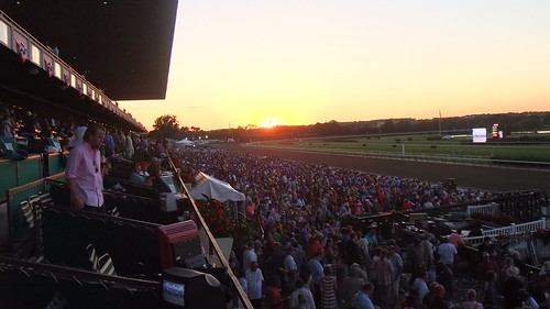 #SnapShot |  Brilliant #BelmontPark #Sunset