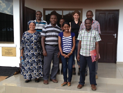 Participants at a training course on microbial assessment of milk