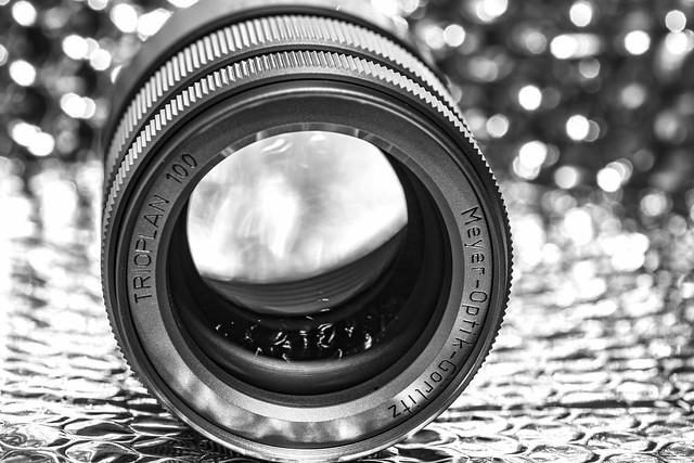Showing off my titanium lens