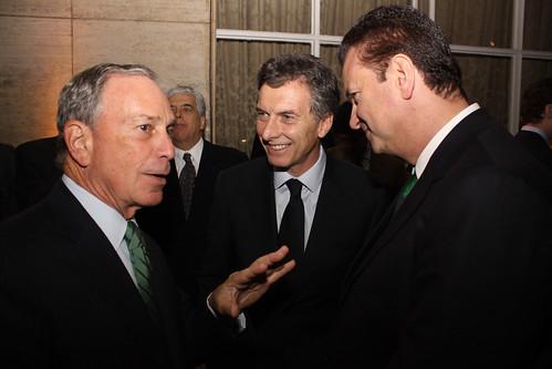 Le milliardaire américain : Michael Bloomberg