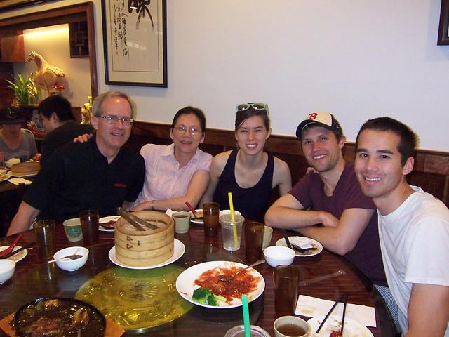 at the dumpling cafe