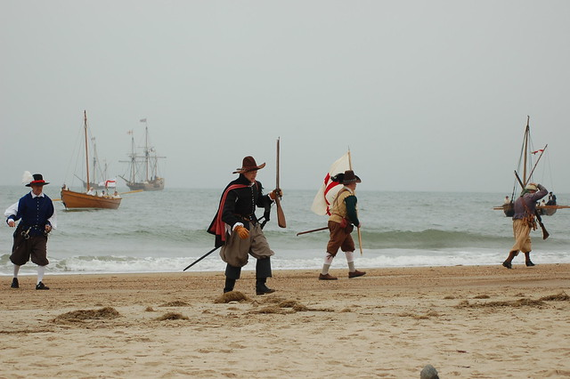 In 2007, for America's 400th Anniversary, First Landing re-enacted the arrival of the Virginia Company