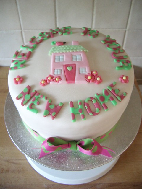 welcome to your new home cakes
