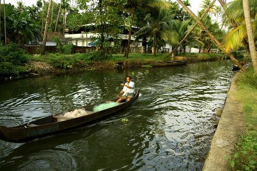 boat kerala waterway cherai vypin