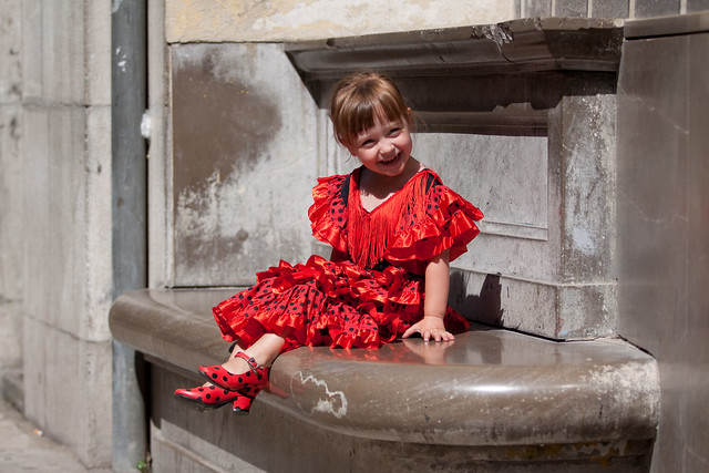 Flamenco kleedje