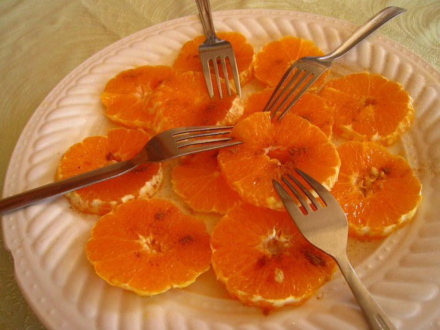 Moroccan sliced oranges (dessert) | Flickr - Photo Sharing!
