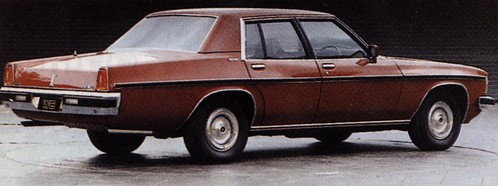 Prototype WB Series Holden Sedan, c late 1970s