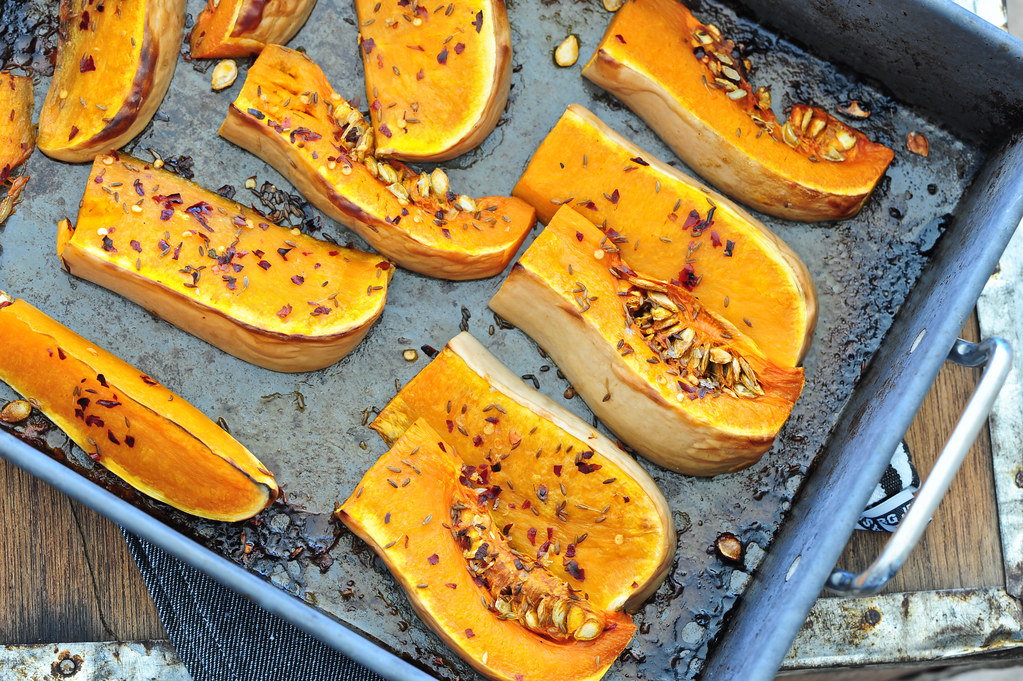 roast butternut pumpkin