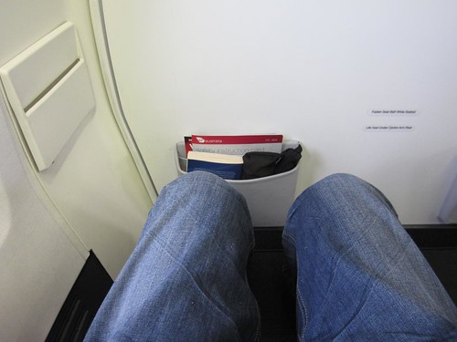 Row 1 Legroom Shot