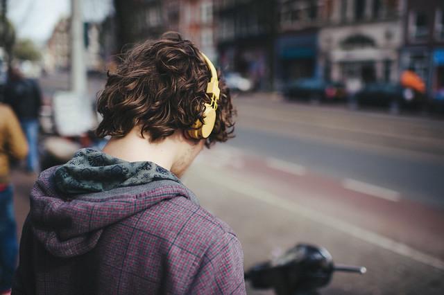 Listening Music...