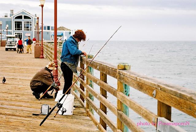 California Pier Fishing At San Diego Beach Flickr Photo Sharing