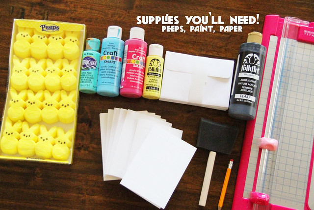 Peep DiY Cards for Spring