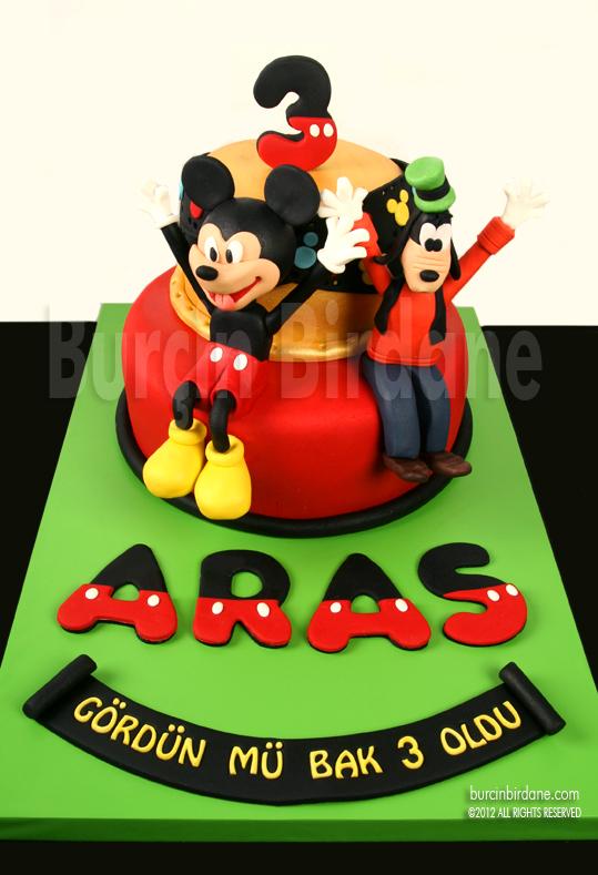 Mickey Goofy 3 Yas Pastasi