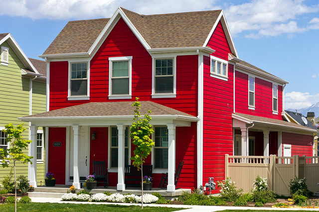New Extreme Red House Flickr Photo Sharing