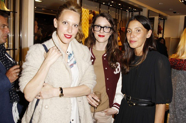 7 P - Guests at the Burberry Eyewear event in Paris0001.jp