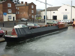 Swift iced in at Stourport