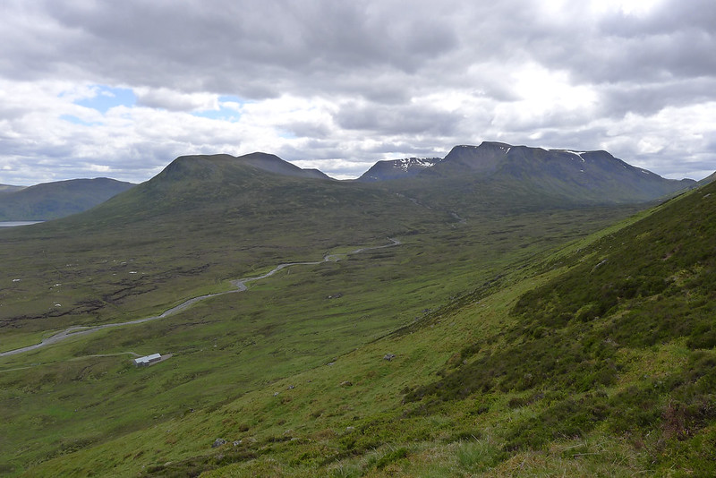Ben Alder from the ascent of Carn Dearg