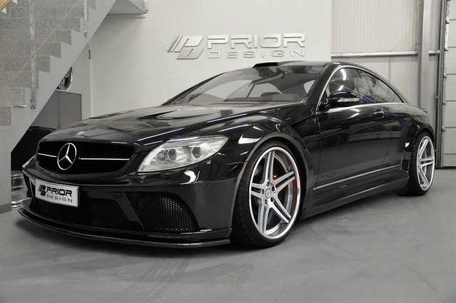 mercedes benz cl w216 pd black edition black series. Black Bedroom Furniture Sets. Home Design Ideas
