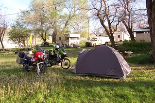 Campground in Antelope, Oregon