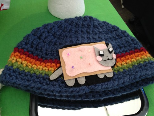 Nyan cat hat!