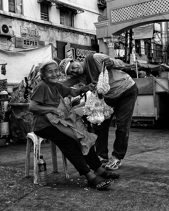 Sampaguita Flower Vendor.