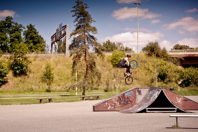 I believe i can fly - BMX