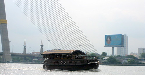 Morning on Chao Phraya River