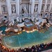 Trevi Fountain Rome Italy in Perspective