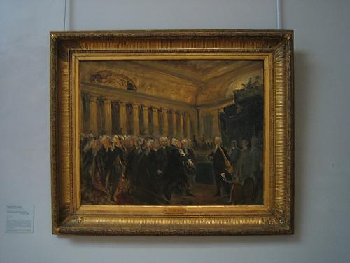 IMG_9004 - Study for Mirabeau Confronts the Marquis de Dreux-Brézé, Eugène Delacroix, Musée Delacroix, Paris, 2008