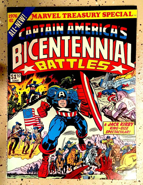 Captain America Treasury Special