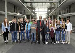 Besuch von Schülerinnen und Schülern der Christian-Morgenstern-Schule am 29.09.2016