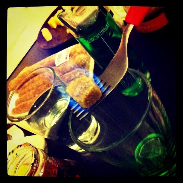 абсент, алкоголь, зеленый, огонь, пламя, рюмка, стакан, череп, шот