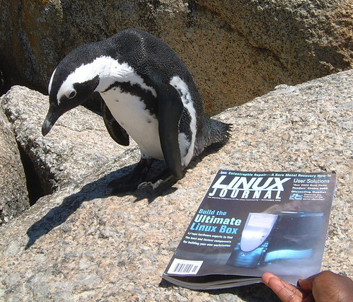 Penguin takes a closer look at Linux Journal