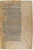 Printed ornamental flowers and manuscript initials in Lucanus, Marcus Annaeus: Pharsalia