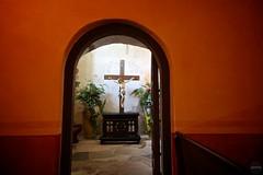 Crucifix Through Doorway
