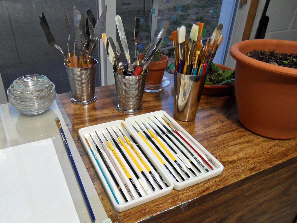 My Studio: December 5, 2010 / New Tools