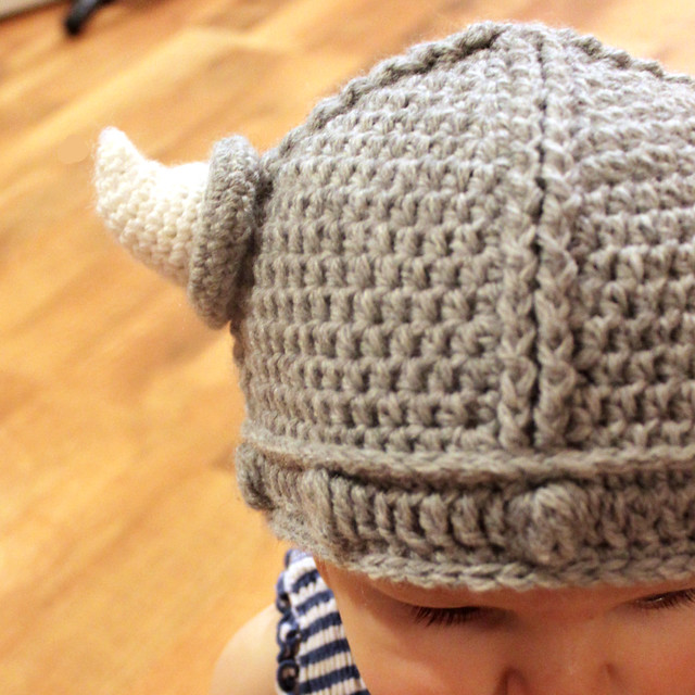 Viking Hat Crochet Pattern  Flickr  Photo Sharing Vikings Blanket Crochet Pattern