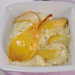 Williams Pears and Sage Risotto