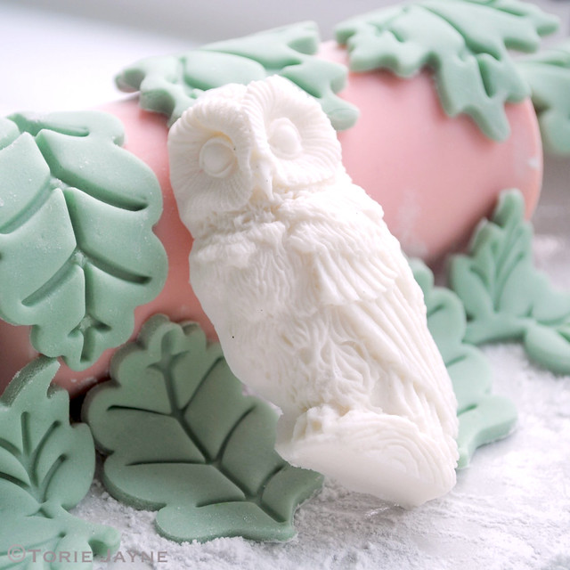 Iced Owl for my Gingerbread House
