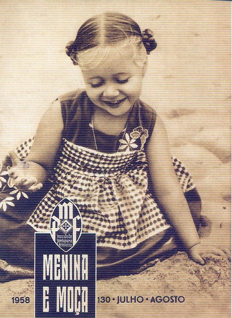 Menina e Moça, Nº 130, Julho, Agosto, 1958 - capa