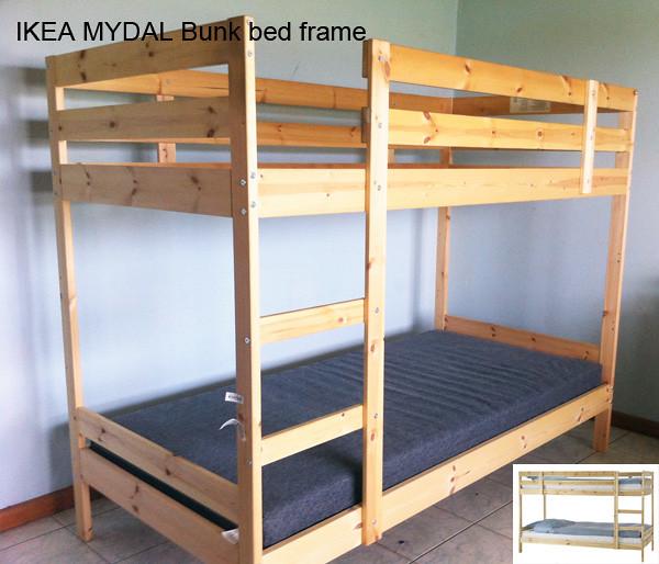 IKEA MYDAL Bunk bed frame | Flickr - Photo Sharing!