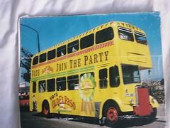 El Paso Advertising Bus 1995