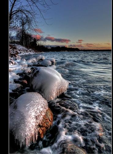 sunset ice flickr vermont outdoor vt lakechamplain northhero borderfx hdrphotomatix116