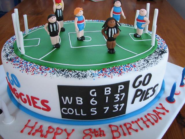 Afl Footy Birthday Cakes