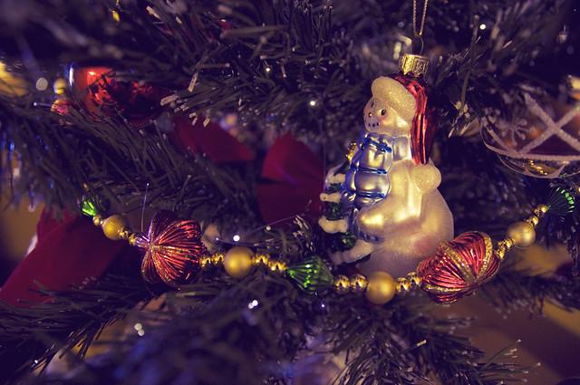 Snowman on my Tree