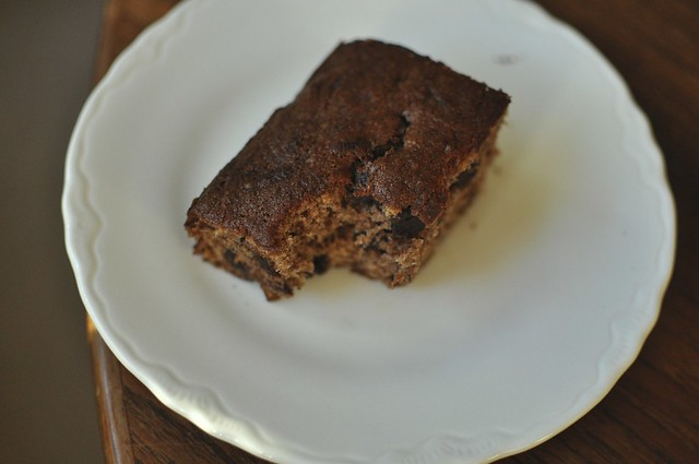 bitten banana bread