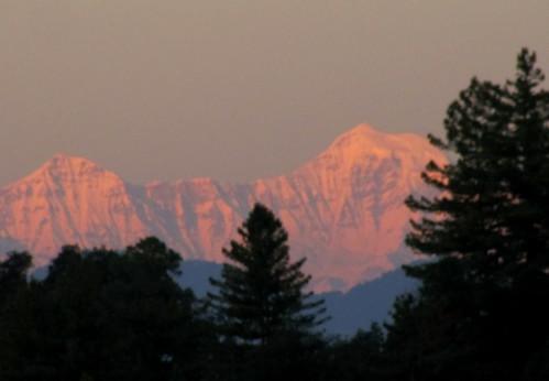 sunset india uttaranchal himalayas landour mussoorie uttarakhand bandarpunch garhwalhimal landaur jabarkhet