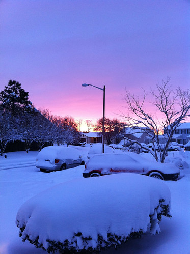 morning sky snow nature beautiful beauty clouds sunrise landscape scenery